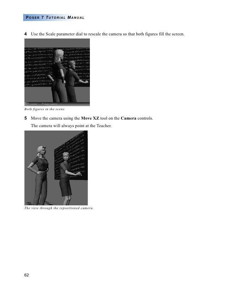 Poser 7 Tutorial Manual