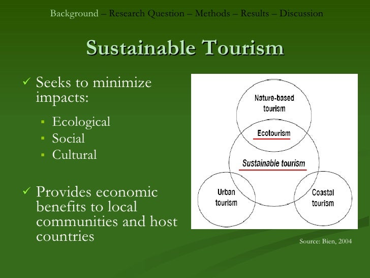 an assessment of sustainable tourism practices Systems to be used for assessing sustainability in tourism (see eg kovács et   the indicators and assessment methods of sustainable tourism 4 the roles of.