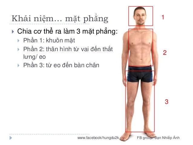 Khái niệm… mặt phẳng   1  Chia cơ thể ra làm 3 mặt phẳng:     Phần 1: khuôn mặt Phần 2: thân hình từ vai đến thắt lưng...