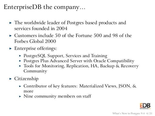 Ashnik Enterprisedb Postgresql A Real Alternative To Oracle
