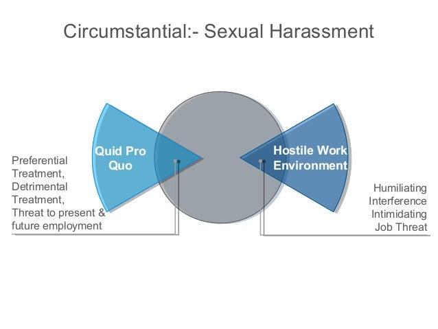 Quid pro quo non-sexual harassment