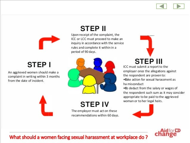 Sexual harassment in the workplace legislation