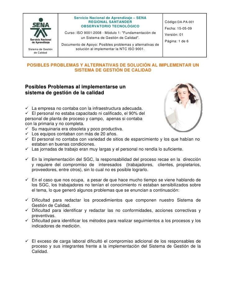Servicio Nacional de Aprendizaje – SENA                                      REGIONAL SANTANDER                          C...