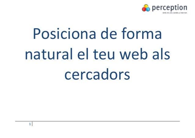 Posiciona de formanatural el teu web als      cercadors1