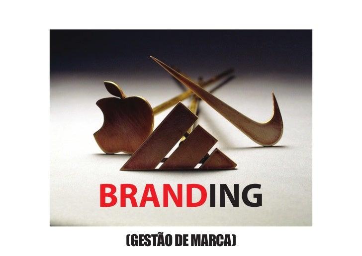 BRANDING (GESTÃO DE MARCA)