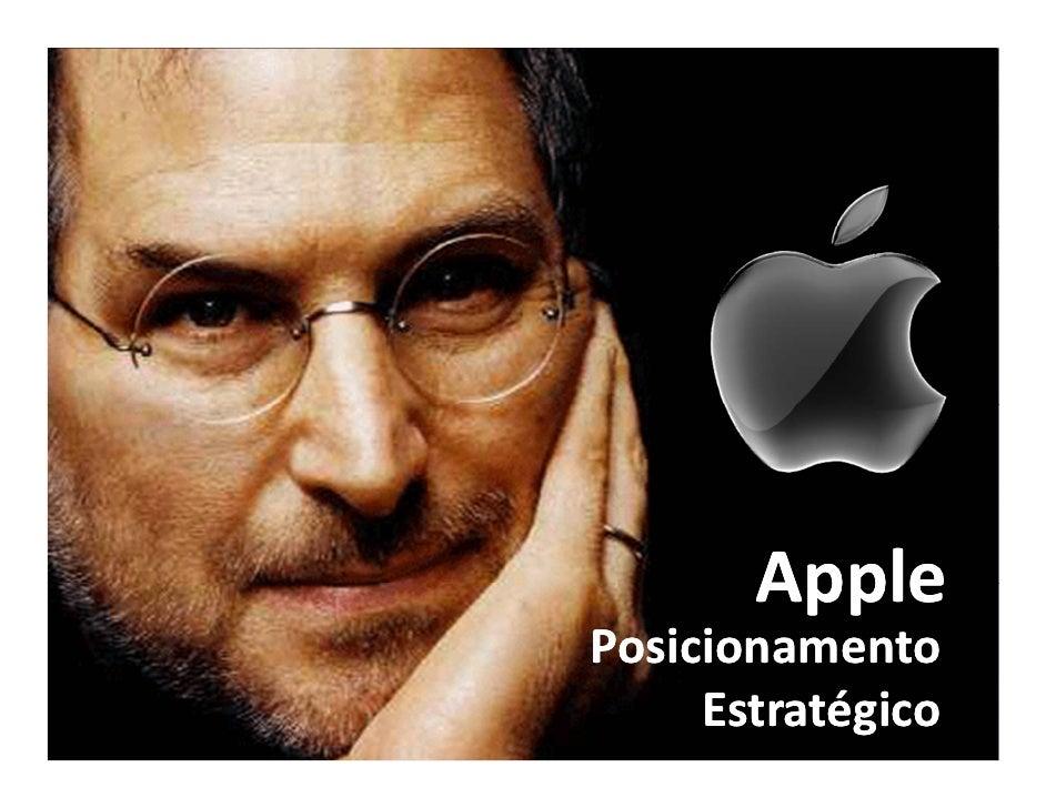 Apple Posicionamento      Estratégico