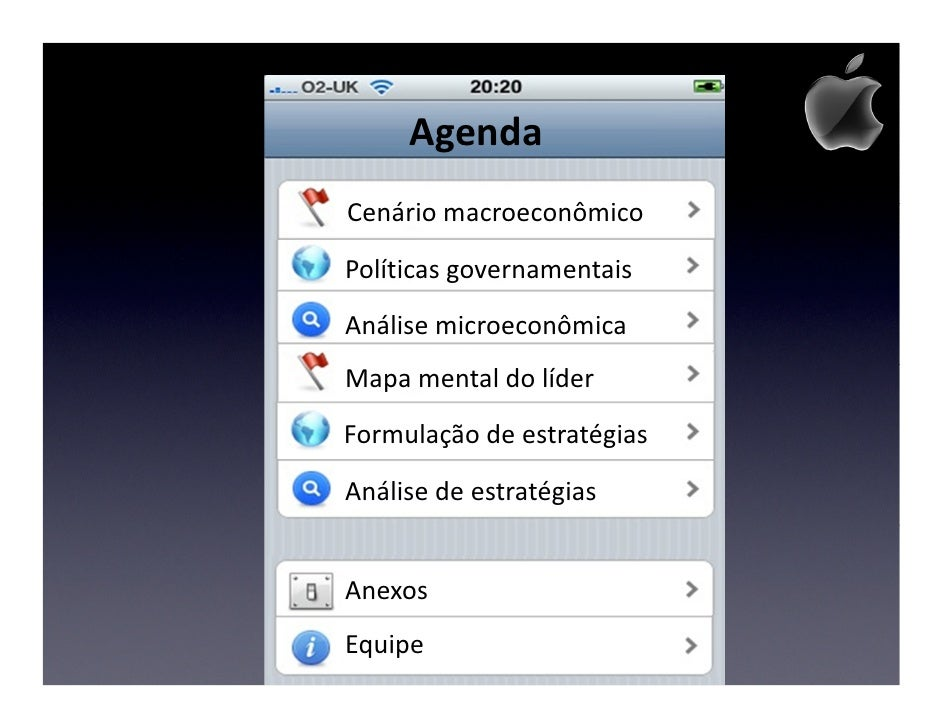 Posicionamento Estratégico Apple Slide 2
