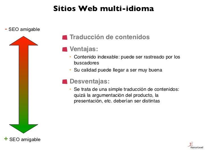 Sitios Web multi-idioma- SEO amigable                    Traducción de contenidos                    Ventajas:            ...