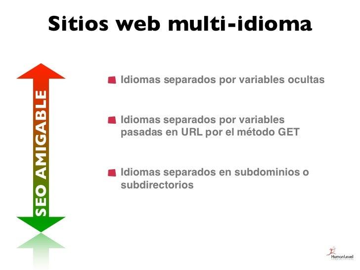 Sitios web multi-idioma                Idiomas separados por variables ocultasSEO AMIGABLE                Idiomas separado...