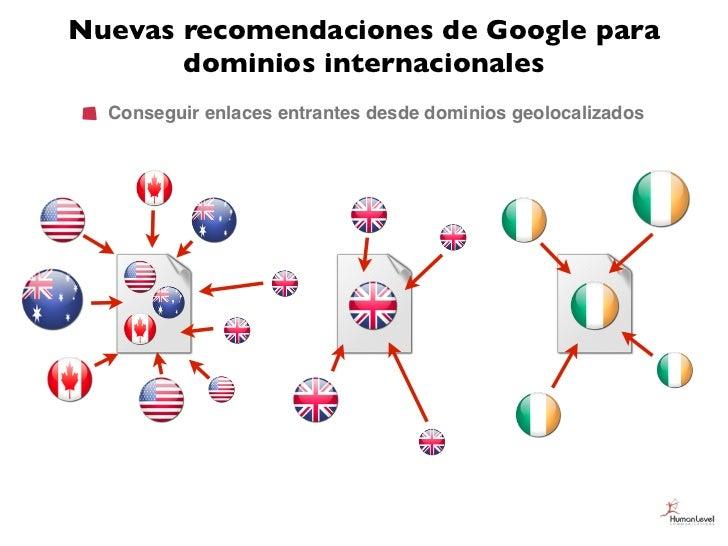Nuevas recomendaciones de Google para       dominios internacionales  Conseguir enlaces entrantes desde dominios geolocali...