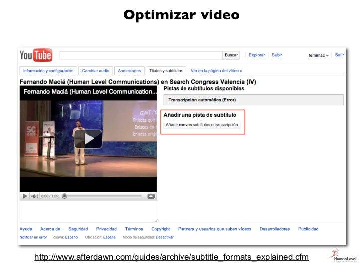 Optimizar videohttp://www.afterdawn.com/guides/archive/subtitle_formats_explained.cfm