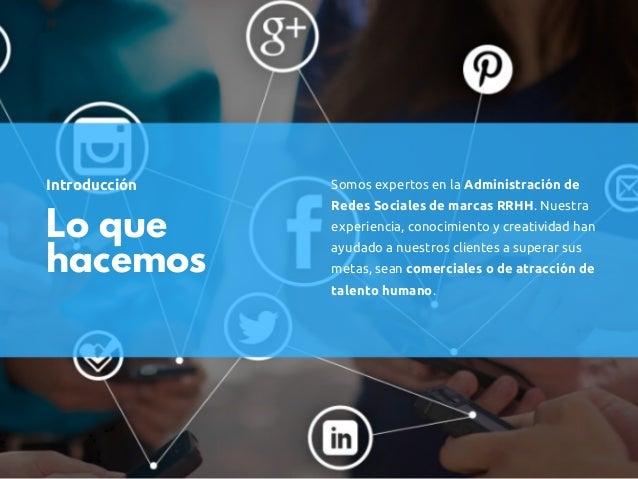 Servicio: Posicionamiento marcas RRHH en Guatemala Slide 2