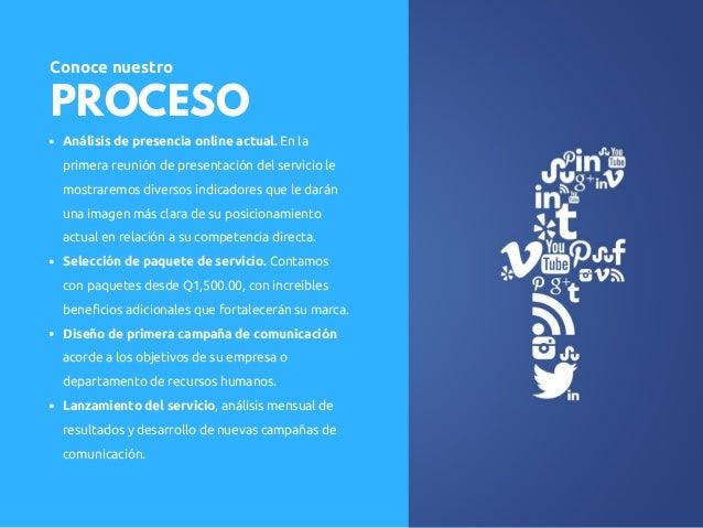 Servicio: Posicionamiento marcas RRHH en Guatemala Slide 3