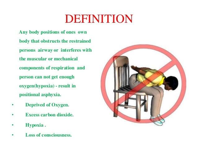 Positional asphyxia Slide 2