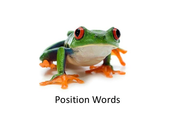Position Words<br />