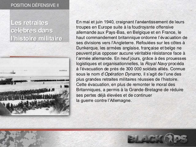 En mai et juin 1940, craignant l'anéantissement de leurs troupes en Europe suite à la foudroyante offensive allemande aux ...