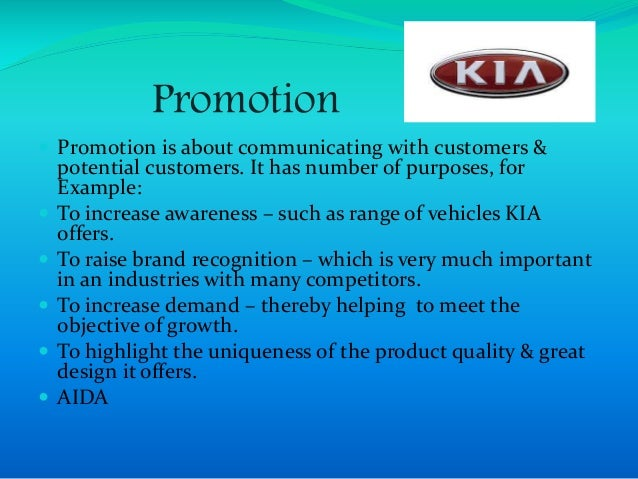 kia marketing strategy Marketing plan group assignment  applying this strategy to current trends and innovating vehicles leading us in the  nissan, toyota, volkswagen, hyundai/kia.