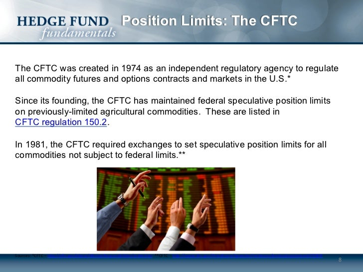 Futures and options trading for hedge funds the regulatory environment