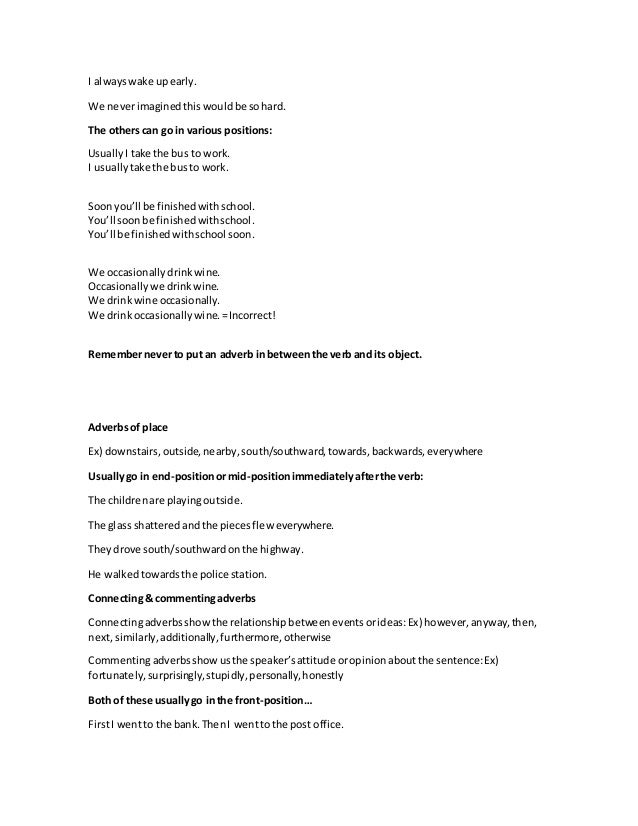 resume adverbs - 28 images - adverbs used for resumes ensign exle ...