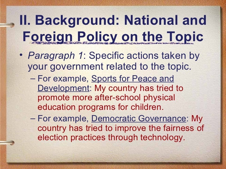 easy position paper topics