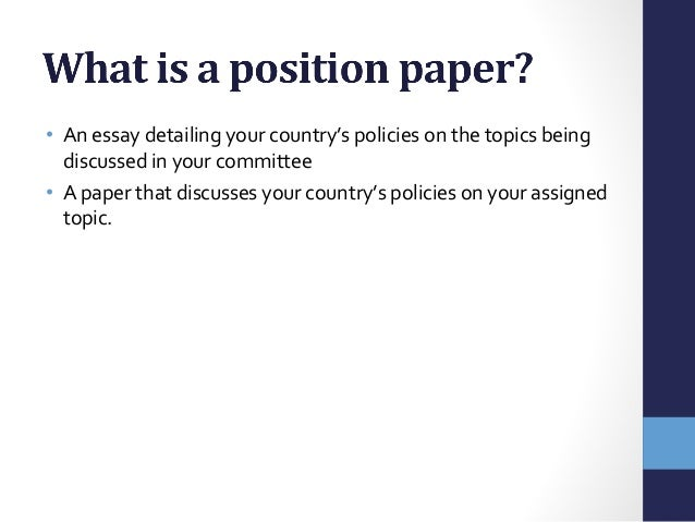 Taking a position essay topics