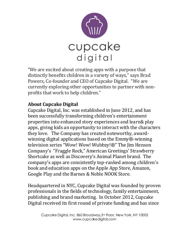 amazon app store position paper 8 cupcake digital launches app 10035