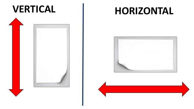 horizonatal