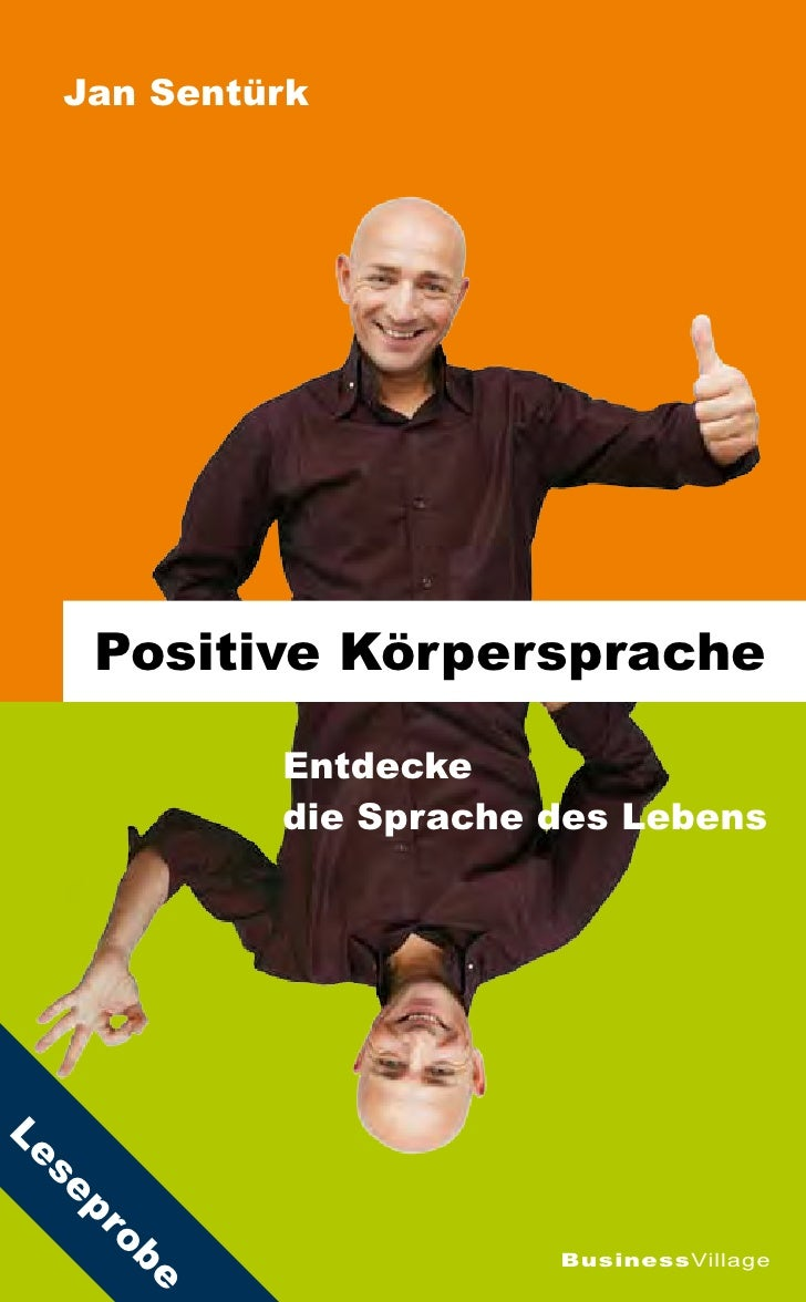 Jan Sentürk          Positive Körpersprache             Entdecke            die Sprache des Lebens Le  se  pr      ob     ...