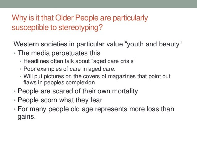 Positive Ageing Ageism
