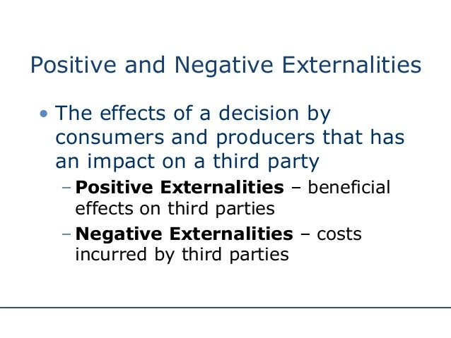 Production Externality