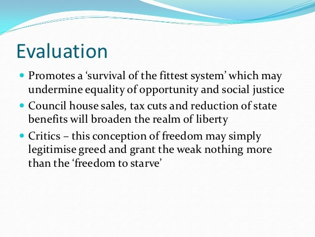 negative and positive freedom Freedom is argued by some to have instrumental as well as intrinsic value economic and political freedoms are argued to have effects on various economic outcomes in.