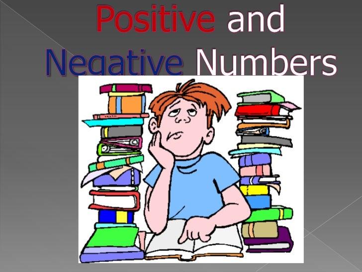 PositiveandNegativeNumbers<br />