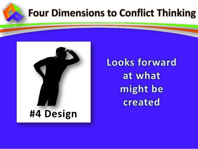 approaches to conflict management Project managers routinely deal with conflict, both from internal and external sources this article provides a framework for the organizational conflict process, and.