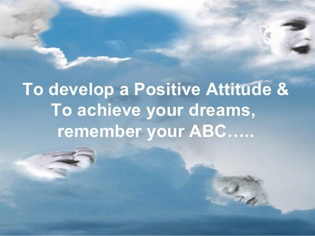 Positive Attitude Slide 2