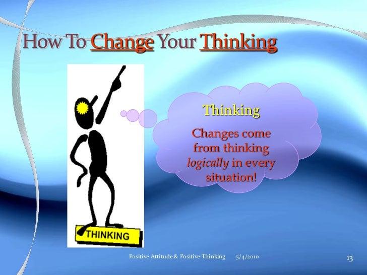 positive thinking powerpoint presentation