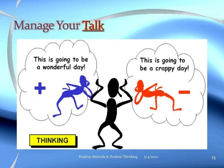 positive thinking presentation