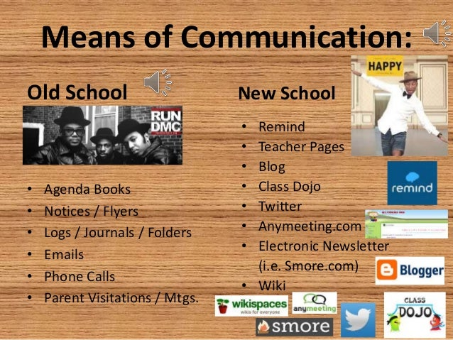 new means of communication