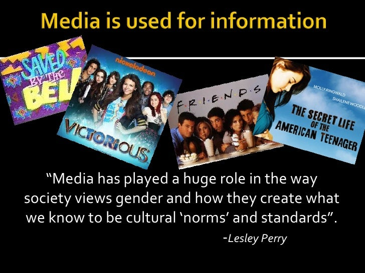 Media influence on sex life