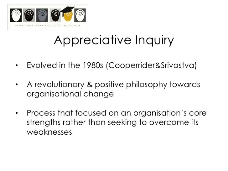 Positive psychology appreciative inquiry workshop a positive revolutionbr fandeluxe Gallery