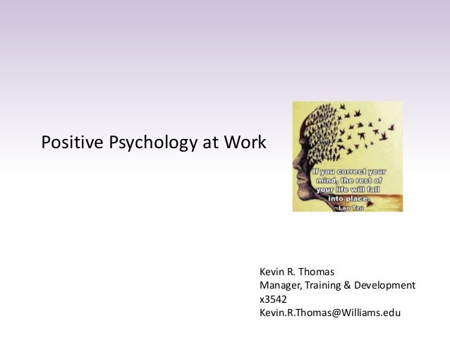 how to use positive psychology