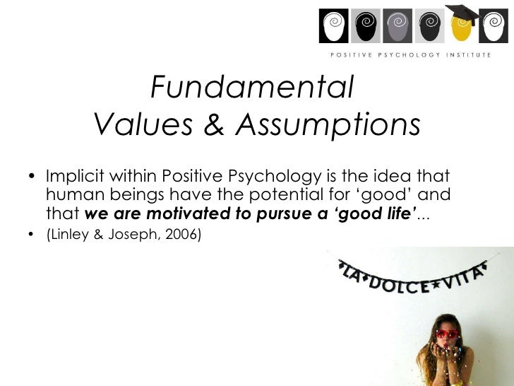 positive psychology in the workplace Implementing positive psychology in the workplace means creating an environment that is relatively enjoyable and productive this also means creating a work schedule.