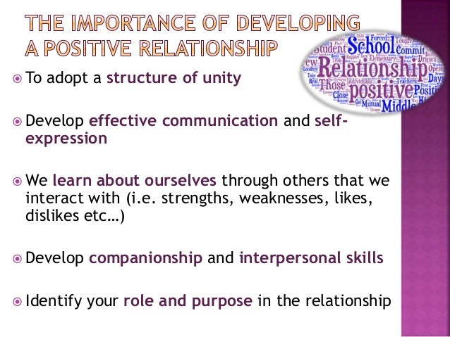 why effective communication is important in developing positive relationships