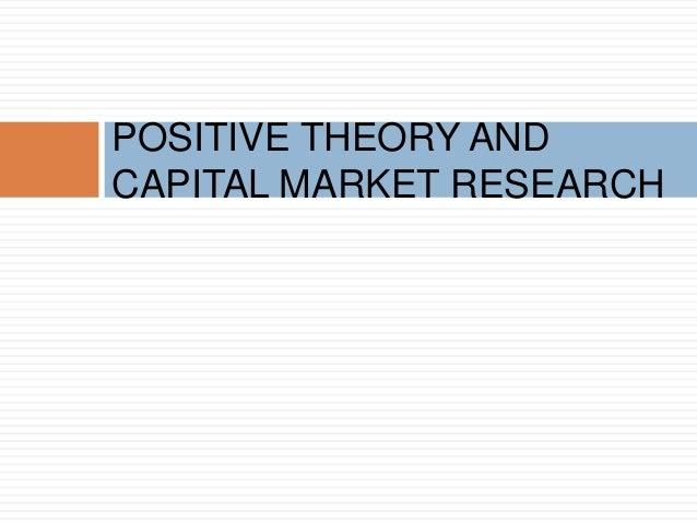 positive agency theory