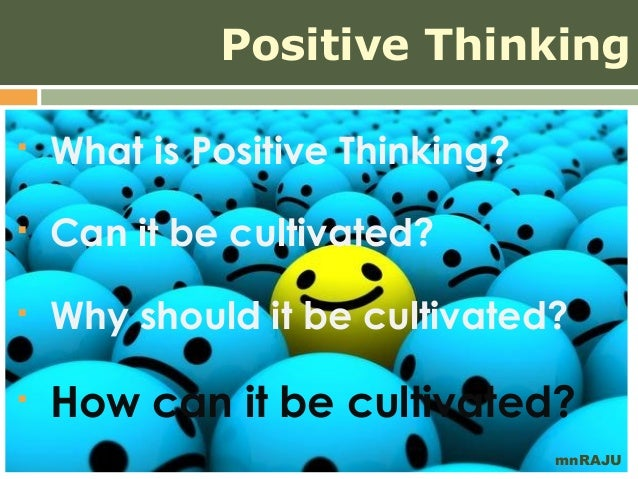 how to become positive thinking