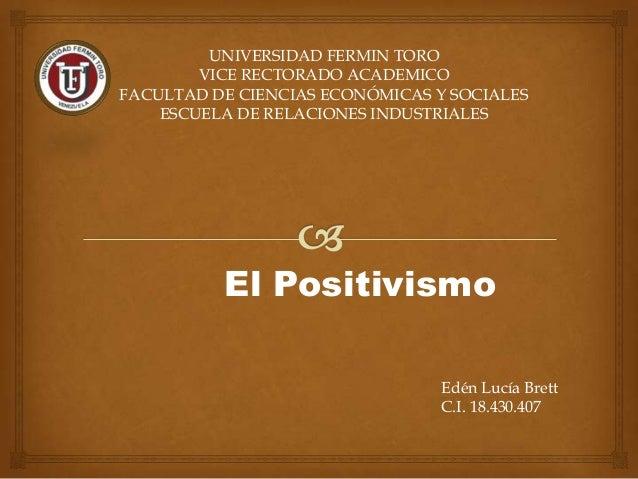 UNIVERSIDAD FERMIN TOROVICE RECTORADO ACADEMICOFACULTAD DE CIENCIAS ECONÓMICAS Y SOCIALESESCUELA DE RELACIONES INDUSTRIALE...