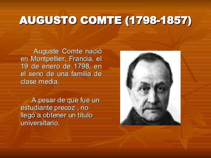 Positivismo CláSico Slide 2