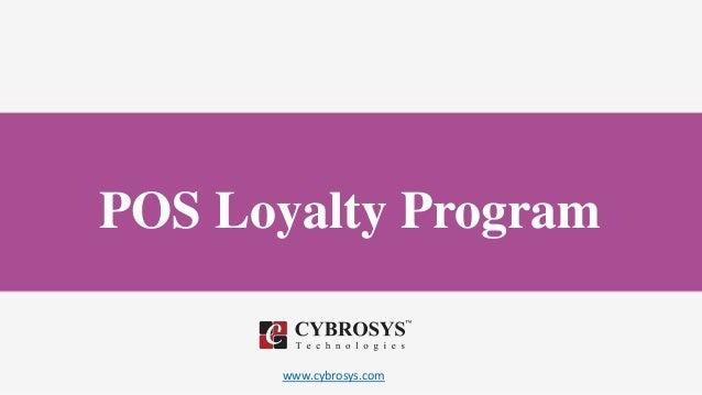 www.cybrosys.com POS Loyalty Program