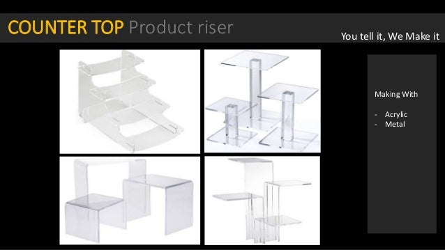 Posm, table top display, counter tops, Point of sale