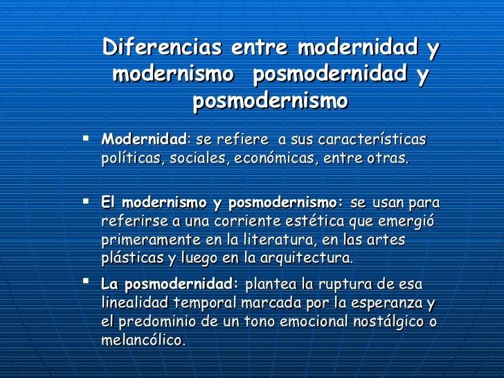 Posmodernismo - Diferencia entre arquitectura moderna y contemporanea ...