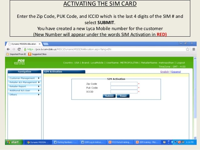 how to activate lycamobile bundle plan